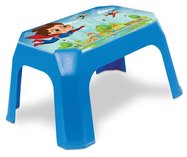 25286-Banqueta-infantil-Azul-com-Label