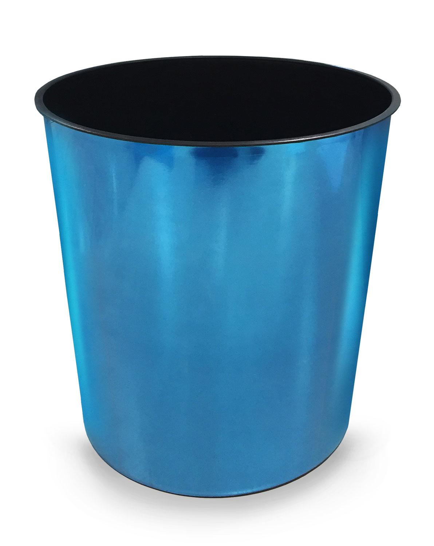 25641-Lixeira-Escr-Metalizado-Azul