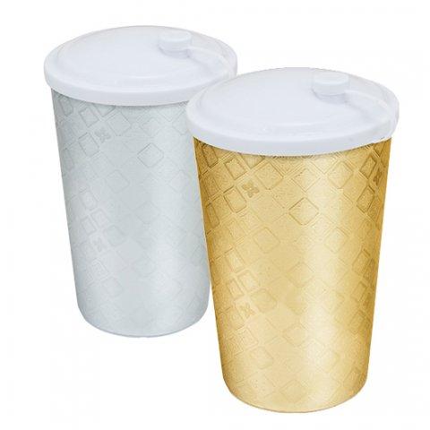 Copo-550ml-Plástico-Com-Tampa-Label-Festa-Prata-e-Dourado